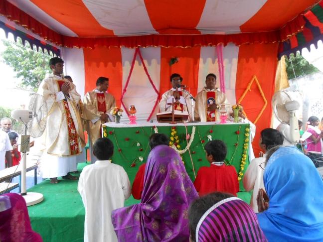 Otdoor Mass in Andra Pradesh
