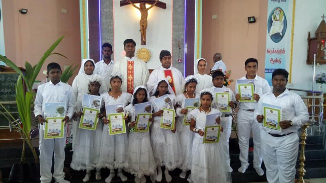 Kumbakonam - First Communion